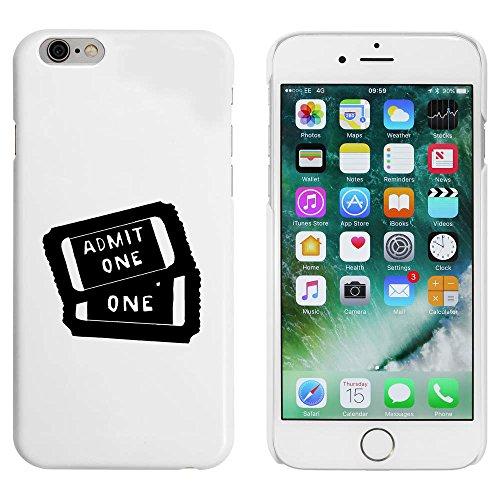 Weiß 'Kino-Tickets' Hülle für iPhone 6 u. 6s (MC00047258)