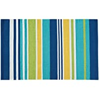 C&F Home Woven Area Rug, Large/3 x 5, Blue and Green