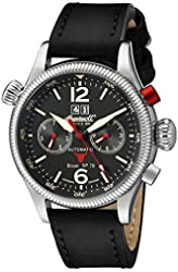 Ingersoll Men's IN3225BK Bison No. 70 Analog Display Automatic Self Wind Black Watch