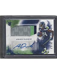 Amara Darboh 2017 Panini Origins Rpa Seahawks 3 Color Rookie Patch Auto Rc - Panini Certified - Football Slabbed Autographed Rookie Cards