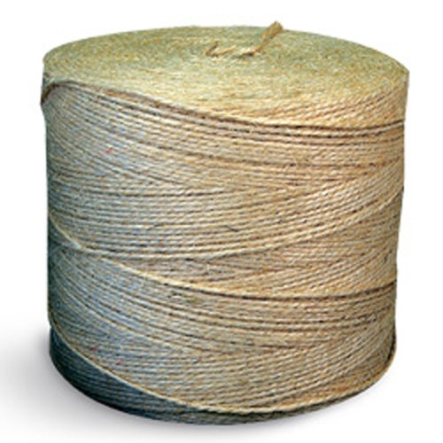 CWC Sisal Baler Twine - 16000', Natural / Gold (Pack of 2 tubes)
