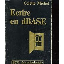 Ecrire en dBASE