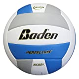 Baden VX5EC Perfection Elite Official Size Leather Game Volleyball (Size 5)