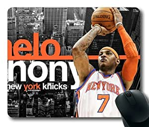 NBA Carmelo Anthony Mouse Pad/Mouse Mat Rectangle by ieasycenter