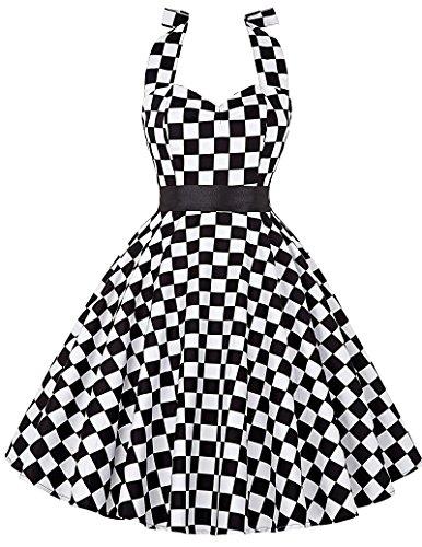 Halter Vintage Dresses CL4599 CL6075