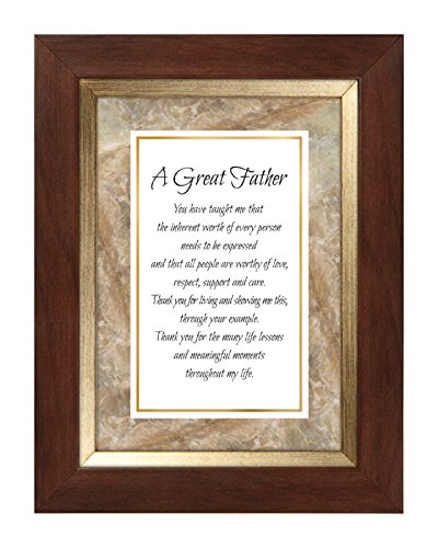 US Gifts Father -7'' X 9'' Framed Tabletop