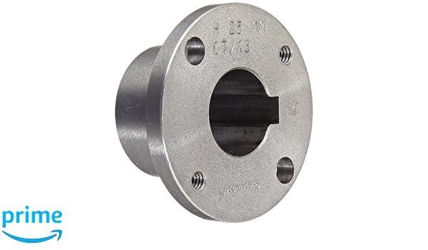 "AMEC Split-Tapered Bushing Bore Pulley 5/"" OD 1/"" bore 4L// 1//2/"" v-belt width."