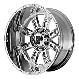 XD Series by KMC Wheels XD809 Riot Triple Chrome Plated Wheel (20x9''/8x165.1mm, +18mm offset)