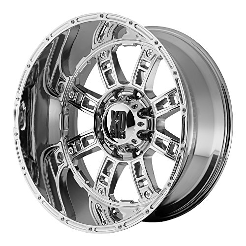 "XD Series by KMC Wheels XD809 Riot Triple Chrome Plated Wheel (20x10""/8x180mm, 24mm offset)"