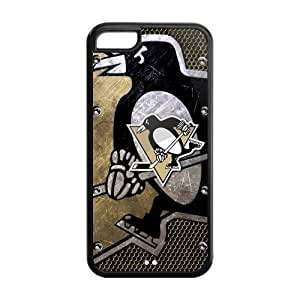 New Gift Pittsburgh Penguins Durable Case for Iphone 5C Snap On