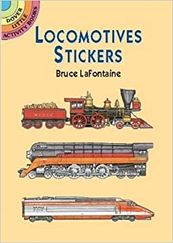 Locomotives Stickers (Dover Little Activity Books Stickers) by Bruce LaFontaine (2003-03-11)
