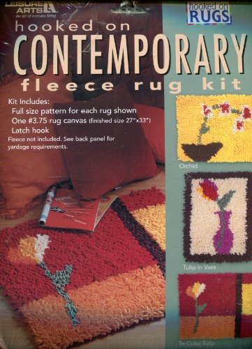 Hooked on Rugs Contemporary Fleece Rug Kit by Hooked On Rugs