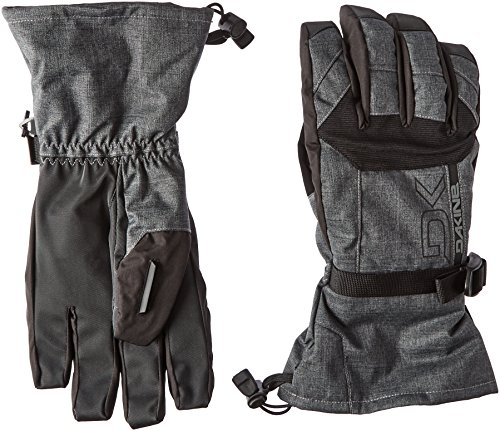 Dakine Mens Snowboard Glove (Dakine Men's Scout Gloves, Large, Carbon)