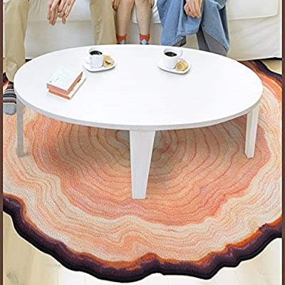 Ustide New Arrival Big Tree Floor Mat Non-skid Living Room Carpet