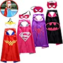 Spess Superhero Capes Kids Birthday Party Favor Idea Costume Set