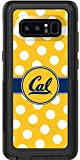 Uc Berkeley - Polka Dots design on Black OtterBox Commuter Series Case for Samsung Galaxy Note 8