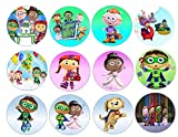 12 Super Why ~ Cupcake Topper ~ Edible Frosting Image