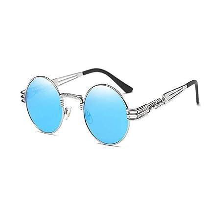 GX Gafas de Sol Redondas Gaox John Lennon Gafas Steampunk ...