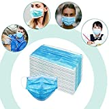 Disposable 3ply Face Mask Elastic Earloop Mouth