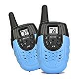 Walkie Talkies Kids Rechargeable Two Way Radios Kids Long Range Ham Radio Handheld Gift Boys Children Kid's Toys Games Long-Range up to 2 Miles LT-A7