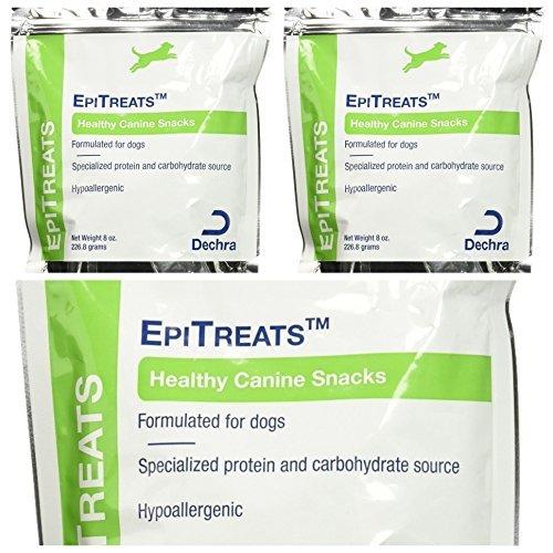 Picture of 3 Packs Dechra EpiTreats Healthy Canine Treats, 8oz each