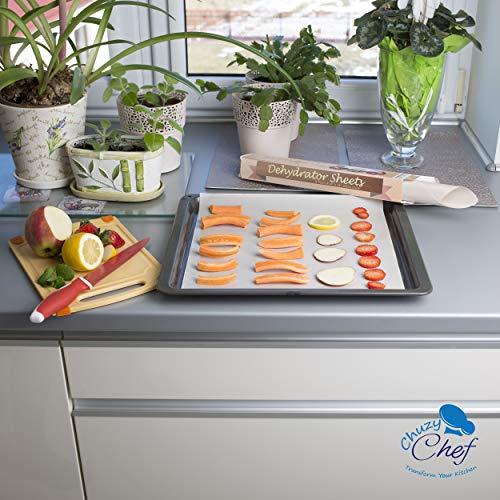 "Food Sheets 9 Premium 14"" 14"" Non Dehydrators Cookie Dryer For Excalibur 2500 2900 3900 Sheet"