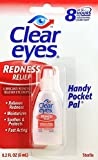 Clear Eyes Redness Relief Handy Pocket Pal, 0.2 Fluid Ounce (Pack of 3) by Clear Eyes