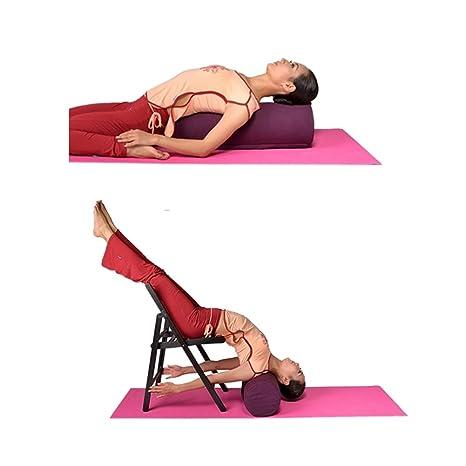 Redonda para Yoga - Esterilla de espuma de pranayama cojín ...