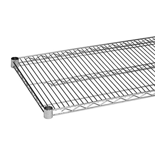 Commercial Chrome Wire Shelving 18 x 30 - NSF (2 Shelves) by L and J