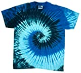 ocean blue tie dye shirt - Buy Cool Shirts Mens Tie Dye Shirt Blue Ocean Swirl T-Shirt LG