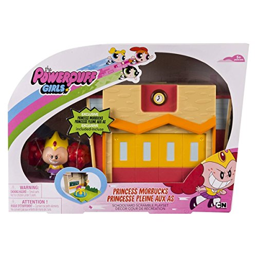 (Powerpuff Girls - Princess Morbucks Schoolyard Scramble Playset by Power Puff)