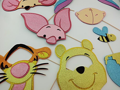 Photo Booth Props Honey Bear Pig (Pooh Bear Honey)