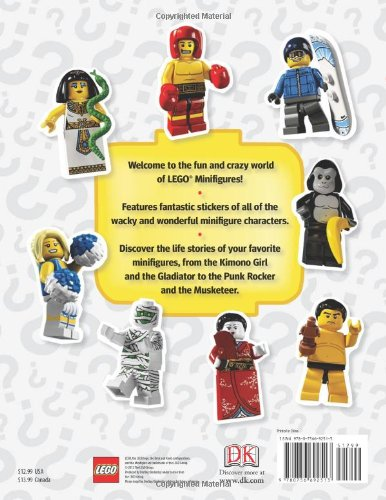 Ultimate Sticker Collection: LEGO Minifigures: Shari Last, Lisa ...