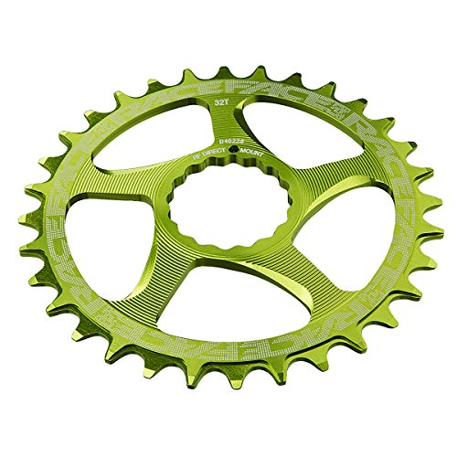 RaceFace 10/11 Speed Cinch Direct Mount Chainring, Green, 30T ()