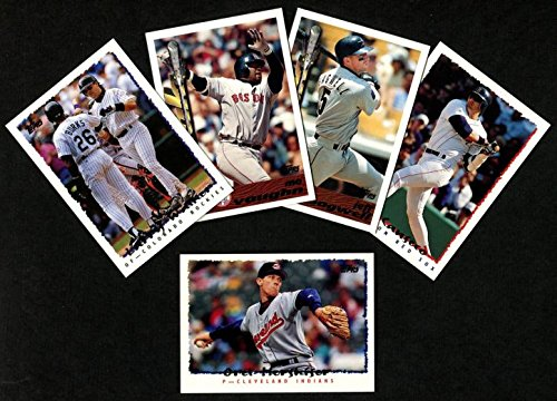 1995 Topps Baseball Traded Complete Set (Baseball Set) Dean's Cards 8 - NM/MT