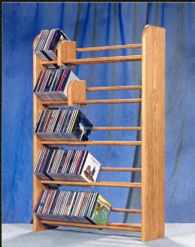 275 CD Storage Rack Finish: Natural by Wood Shed