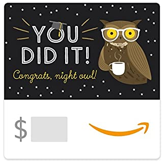 Amazon eGift Card - Graduation Owl (B01DOPQL1Y) | Amazon price tracker / tracking, Amazon price history charts, Amazon price watches, Amazon price drop alerts