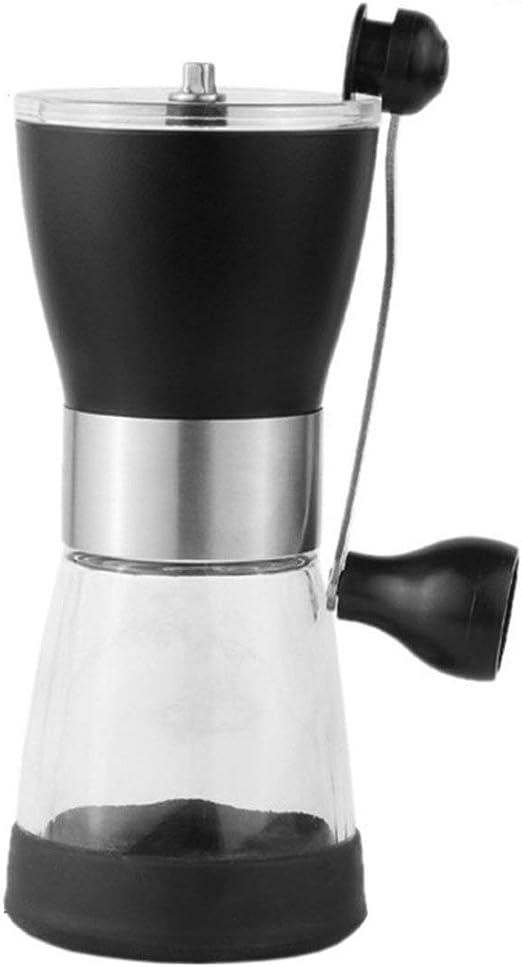 Molinillo de café manual de plástico para cafetera de mano, grano ...