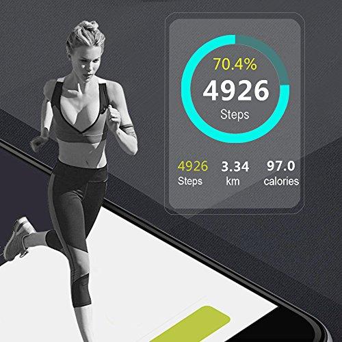 ALL Cart Fitness Tracker Activity Monitor Smart Pedometer Waterproof Bracelet