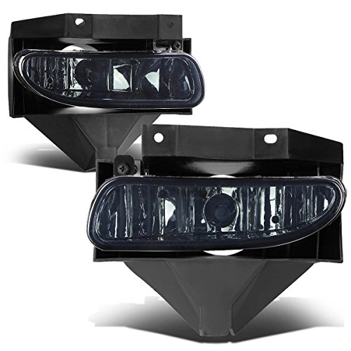 Smoke Fog Light Kit (Ford Mustang New Edge Pair of Bumper Driving Fog Lights (Smoke Lens))
