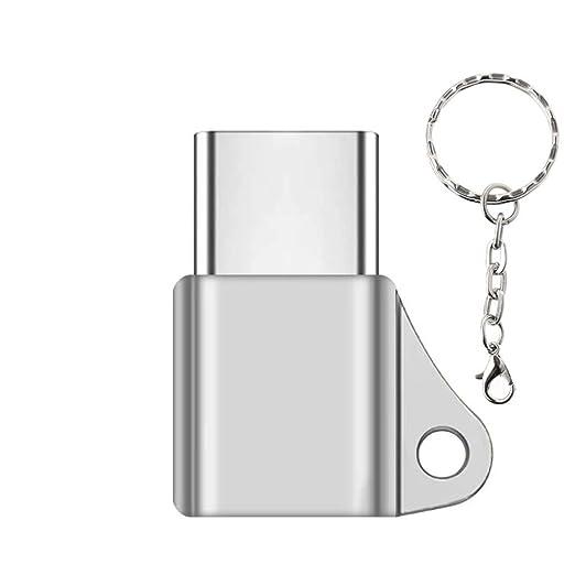 JENOR USB C 3.1 Tipo C macho a Micro USB hembra convertidor ...