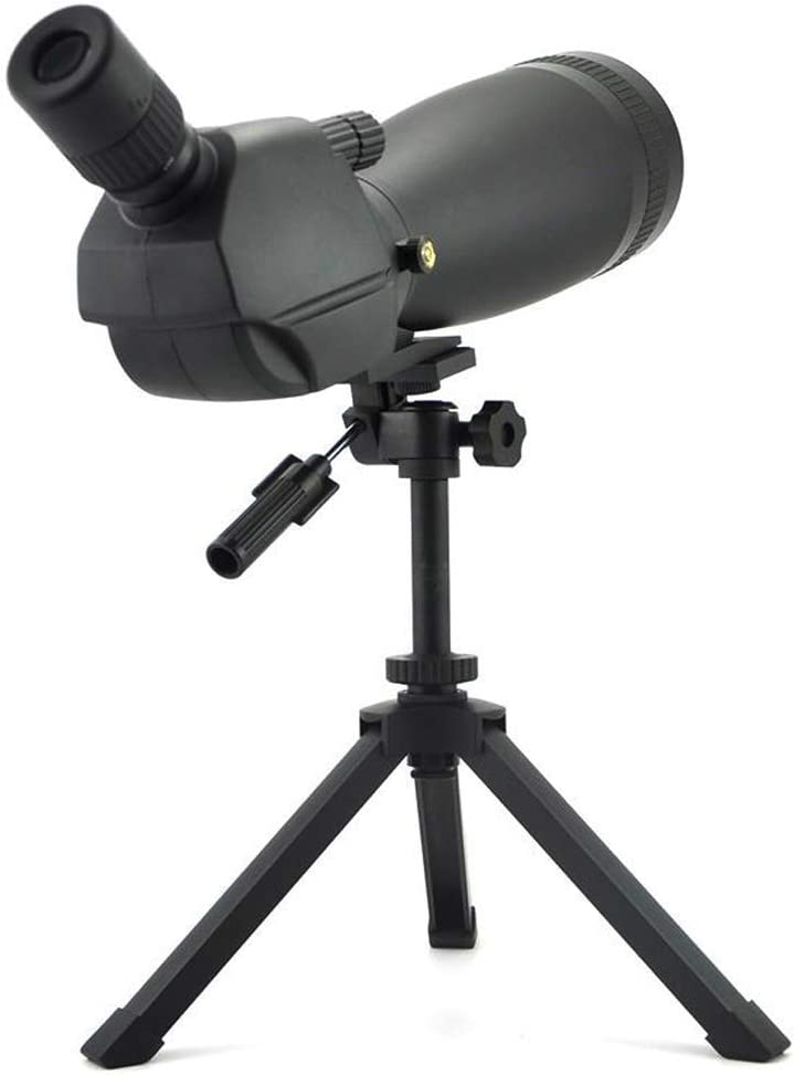 GUOXY Telescopio Telescopio Prismáticos Bak4 Impermeable Viajes Prueba de Niebla Prismáticos Monocular con Trípode Llevar Mirar Pájaro