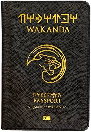 Pasaporte Wakanda - Pasaporte Protector - funda pasaporte Pasaporte International Protective Cover Panther: Amazon.es: Equipaje