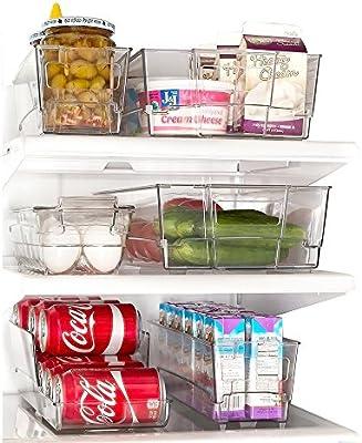 7 piezas refrigerador y congelador cajones organizador de ...
