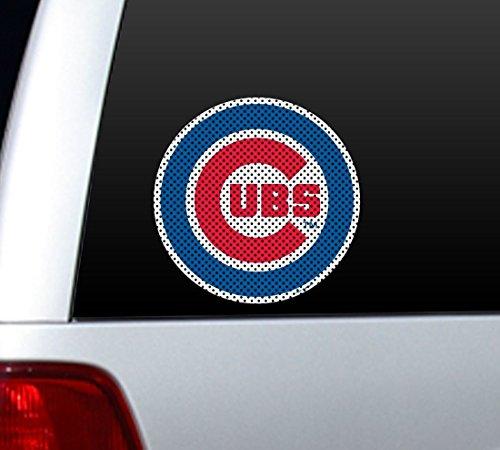 - MLB Chicago Cubs Die Cut Window Film
