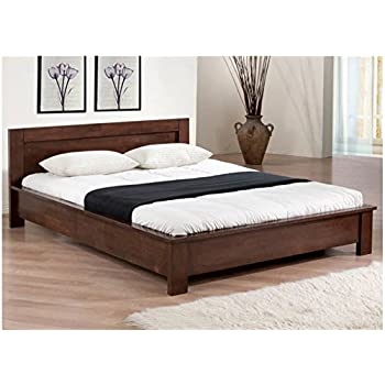 Amazon Com Low Profile Full Size Bed Frame Wooden