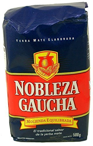 Yerba Mate Nobleza Gaucha x 500 g Argentina Tea 1.1 lb (Argentina Tea)