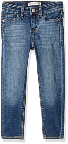 - Levi's Little Girls' 710 Super Skinny Fit Classic Jeans, Fiji Blue, 6
