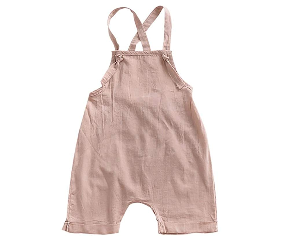 Mama Loves Outfits for Toddler Girls Strap Sleeveless Shorts Toddler Girls Rompers and Jumpsuits
