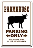 Farmhouse Novelty Sign | Indoor/Outdoor | Funny Home Décor for Garages, Living Rooms, Bedroom, Offices | SignMission Gift Farmer Farm Hens Chicken Eggs Crops Horse Cow Cattle Sign Decoration